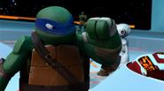 Leonardo Angry At Fugitoid