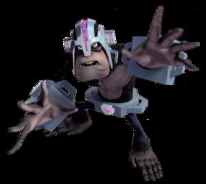 Monkey Rockwell With Helmet Profile