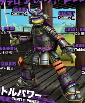 Samurai Donatello