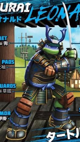 Samurai Leonardo