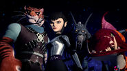 Karai Tiger Claw Fishface And Rahzar