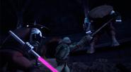 Donatello Versus Elite Foot Bots