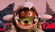 Michelangelo's Space Helmet