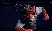 Karai And Tiger Claw Running