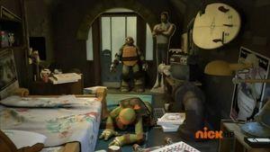 Mikey S Bedroom Teenage Mutant Ninja Turtles 2012 Series Wiki