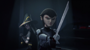 Karai And Shinigami Ready To Attack