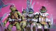 Dimension X Leonardo Dimension X Donatello And Dimension X Raphael With Savage Mikey