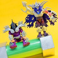 Nick Super Shredder Figure And 1991 Film Super Shredder