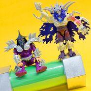 Nick Super Shredder Figure And 1991 Film Super Shredder