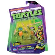 TMNT 2012 Ninjas in Training Leonardo and Donatello (2013 Action Figure)