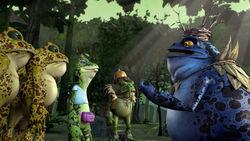 TMNT 2012 Punk Frogs