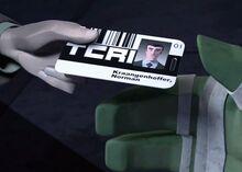 TMNT12 Norman Kraangenhoffer card