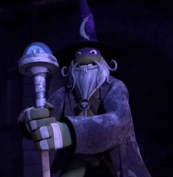 Donnie the wizard