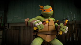 Michelangelo Teenage Mutant Ninja Turtles 2012 Wiki Fandom