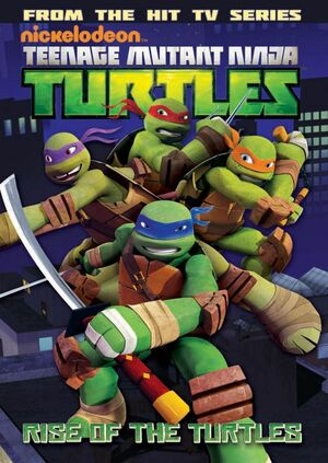 TMNT Animated Vol 1 cover
