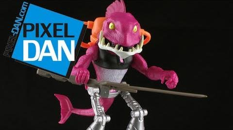 Nickelodeon Teenage Mutant Ninja Turtles Fishface Figure Review