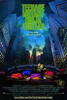 Teenage Mutant Ninja Turtles (1990) Poster
