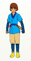 Ashitaka (Cut on Left Cheek)