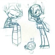 Official First XJ9 Artist Sketches