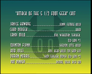 Attack of the 5.5 Feet Geek-credits
