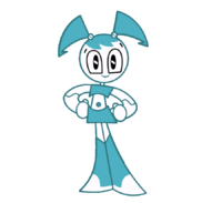 Jenny-Smiling-Standing-Vector