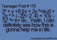 Teenager Post 176