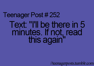 Teenager Post 252