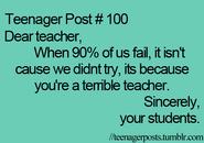 Teenager Post 100