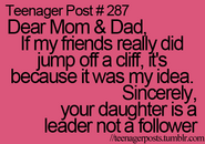 Teenager Post 287