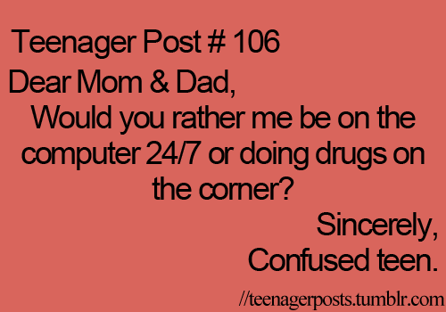 Teenager Post 106