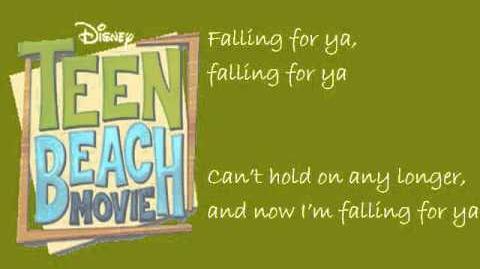 Falling For You (Lyrics Video) - Teen Beach Movie Grace Phipps