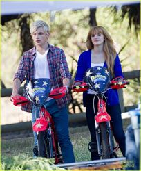 Ross Lynch and Bella Thorn Danimals (4)