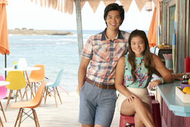 Spencer and Alyssa Teen Beach 2 Promotional Picture