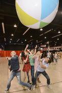Full Cast Bouncing a Ball D23