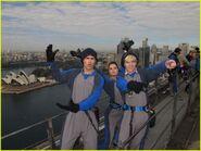 Maia, Spencer, and Ross Harbour Bridge Climb