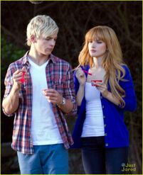 Ross Lynch and Bella Thorn Danimals (3)