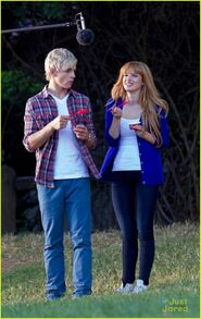 Ross Lynch and Bella Thorn Danimals (1)