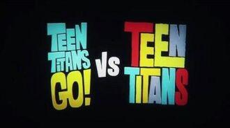"""Teen Titans GO! Vs Teen Titans"" Yayınlandı!"