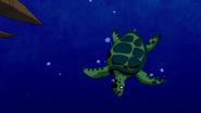 Beast Boy as Sea Turtle