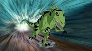 Beast Boy as Utahraptor