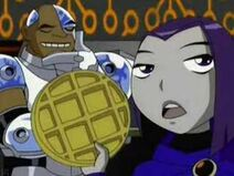 Raven cyborg