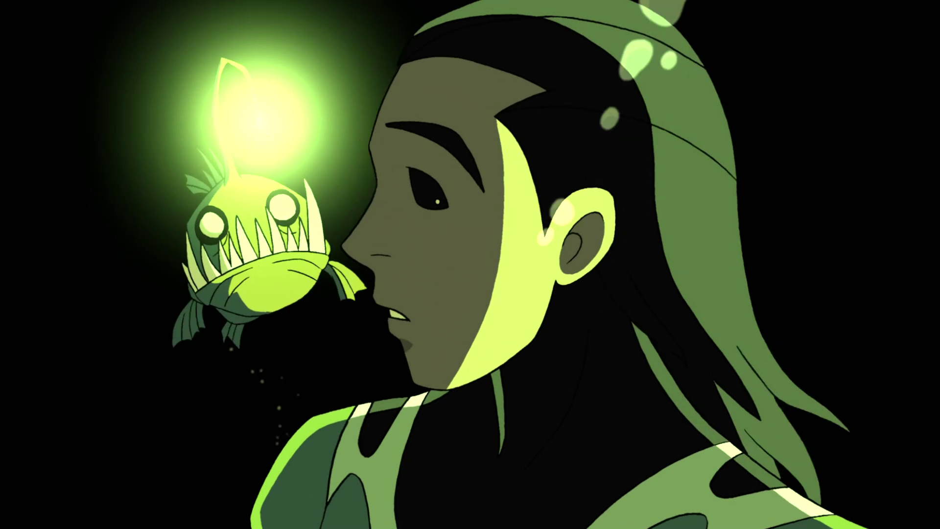 Image - Beast Boy as Anglerfish.png   Teen Titans Wiki   FANDOM ... for Angler Fish Png  75sfw
