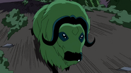 Beast Boy as Musk Ox