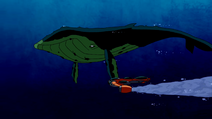 Beast Boy as Whale