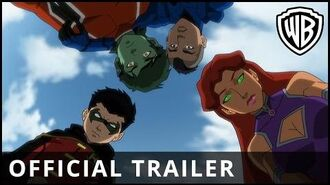 Justice League vs. Teen Titans - Resmi Fragman - Warner Bros