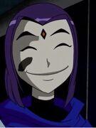 Raven smile