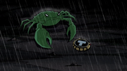 Beast Boy as Crab
