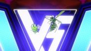 Beast Boy as a Wasp