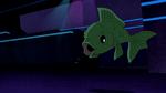 Beast Boy as Fish