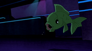 Beast Boy as Fish